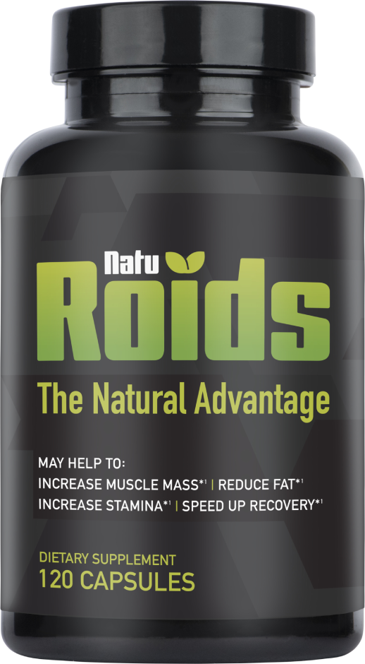 naturoids bottle front label